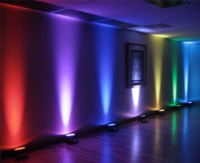 led uplighters hire in essex