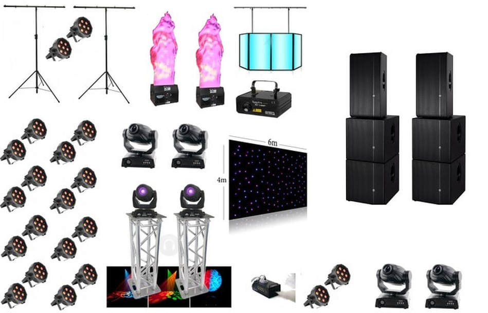 party lights hire london essex