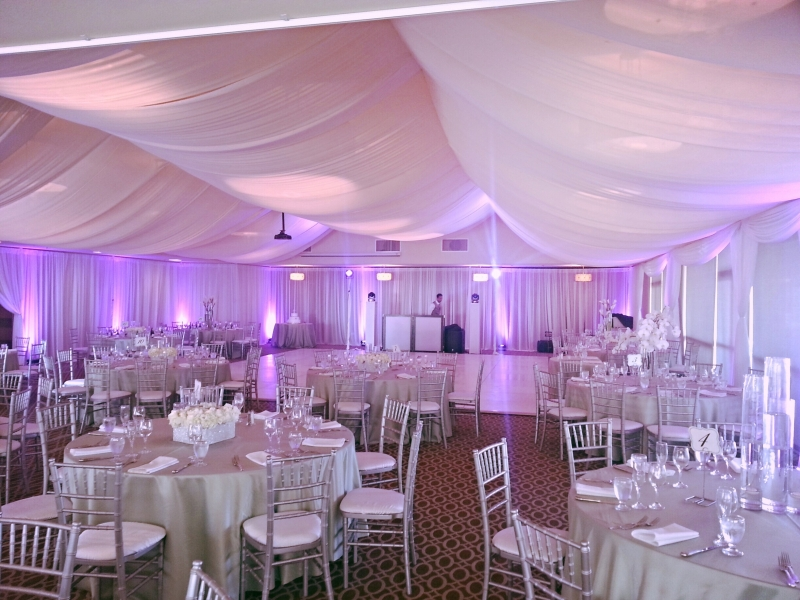 wedding drape hire london