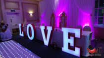 led love letter hire london