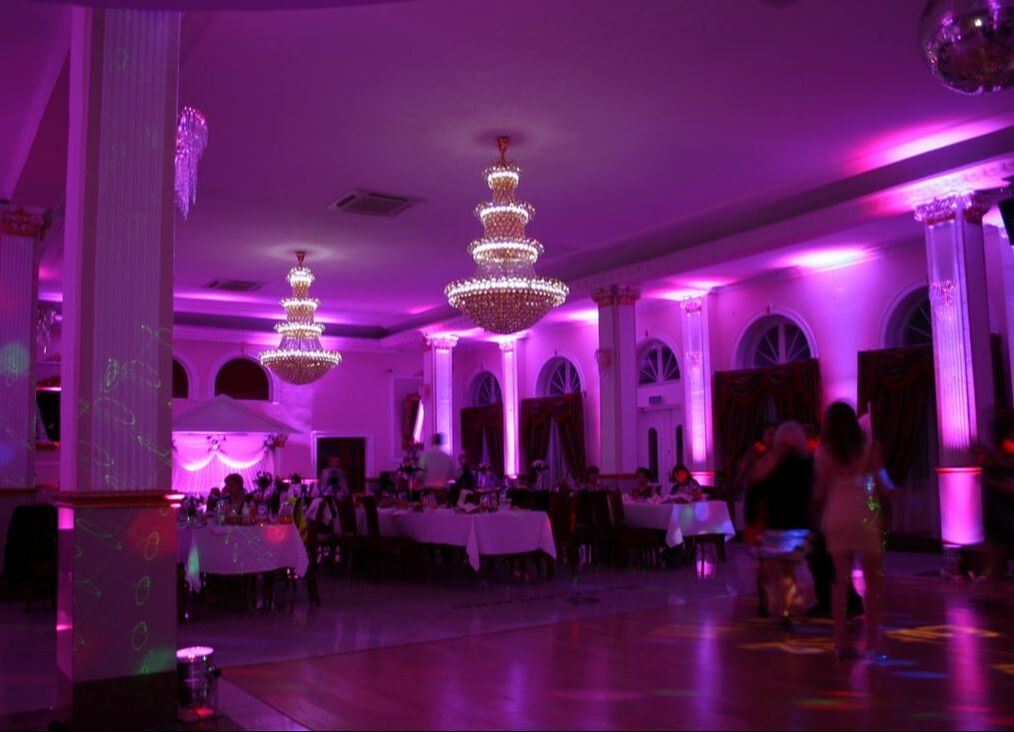 led uplighters hire london