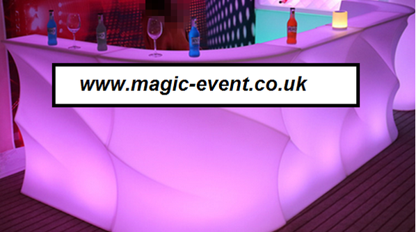 led mobile bar hire london